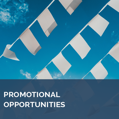 Promotional Opportunities