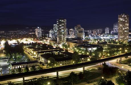 Central Boulevard Night