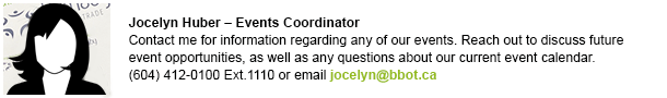 Jocelyn Huber - Events Coordinator