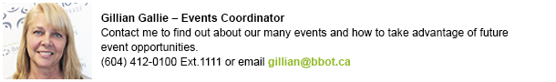 Gillian events contact