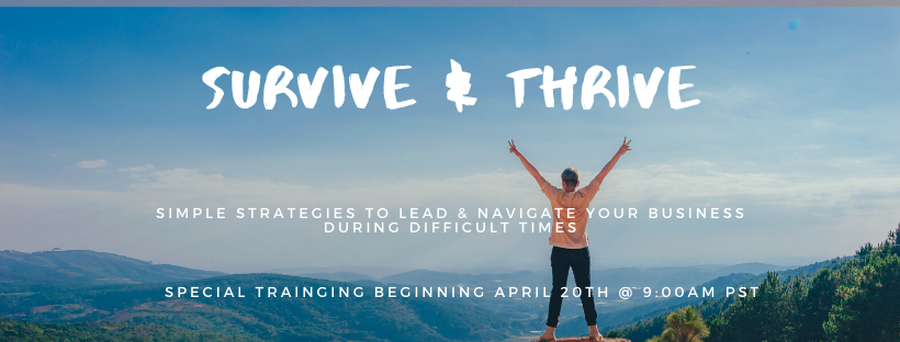 How to position your company to survive and thrive in the